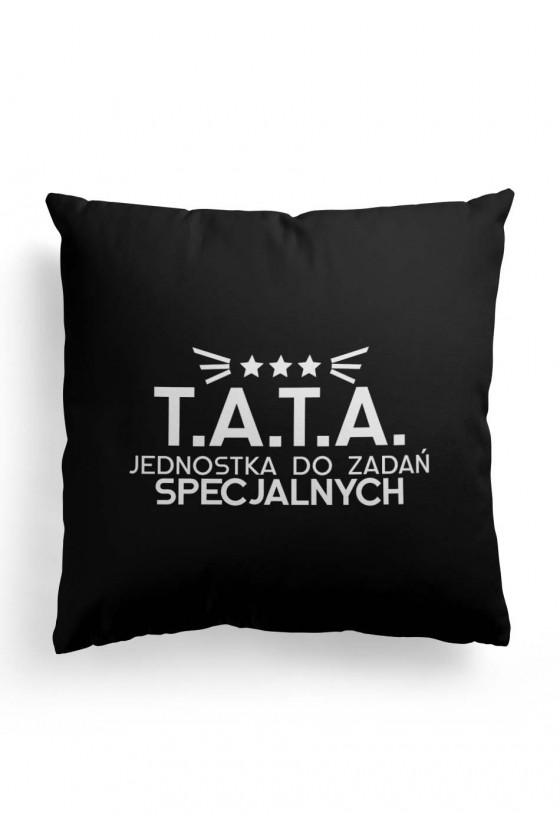Poduszka Premium Czarna T.A.T.A. jednostka do zadań specjalnych