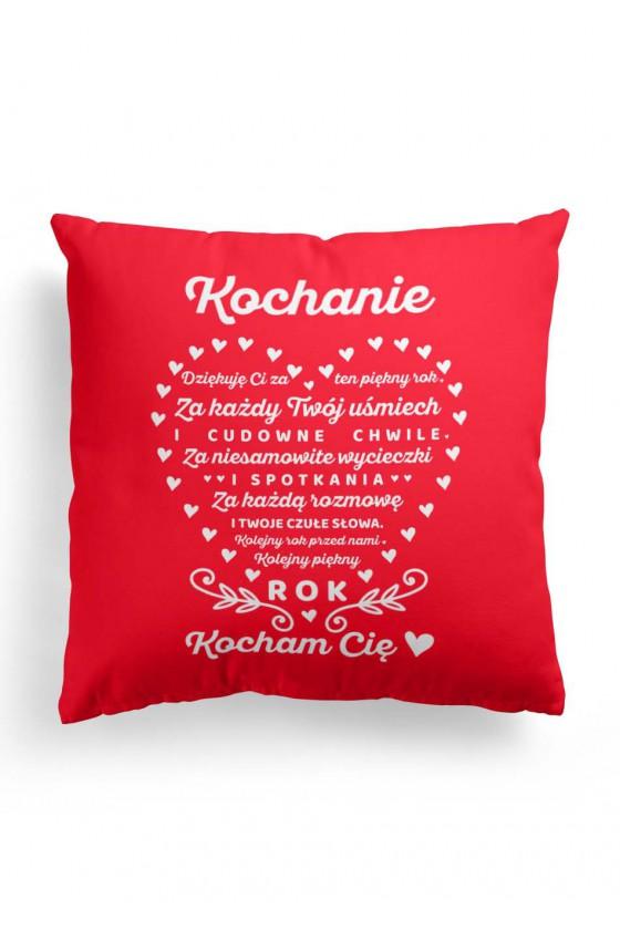 Poduszka Premium Prezent Świąteczny z romantycznym tekstem dla ukochanej osoby 2
