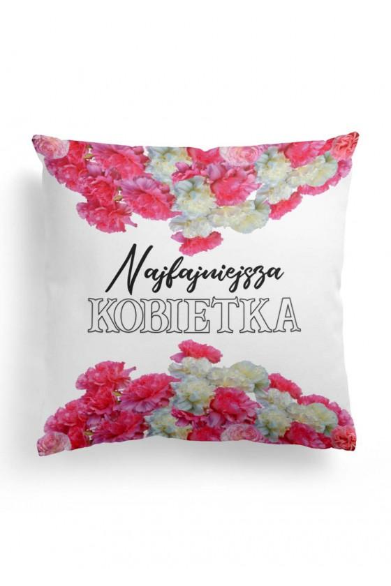 Poduszka Premium dla Najfajniejszej Kobietki na świecie