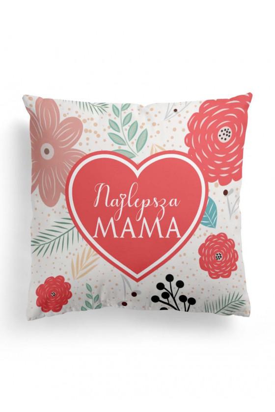 Poduszka Premium dla Mamy Najlepsza Mama na Świecie