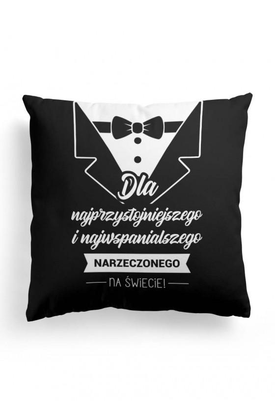 Poduszka Premium dla narzeczonego przystojniaka (czarna)