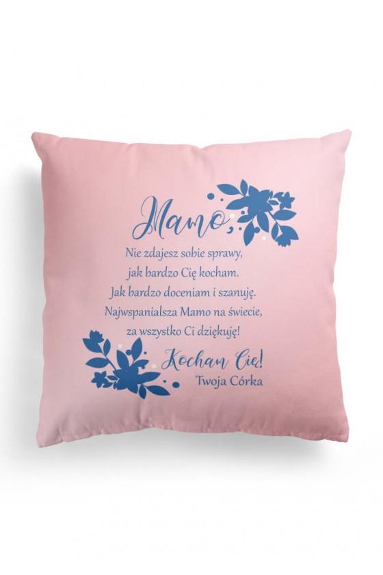 Poduszka Premium ze słodkim wyznaniem dla mamy (od córki)
