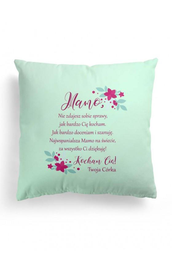 Poduszka Premium ze słodkim wyznaniem dla mamy (od córki) WERSJA 2