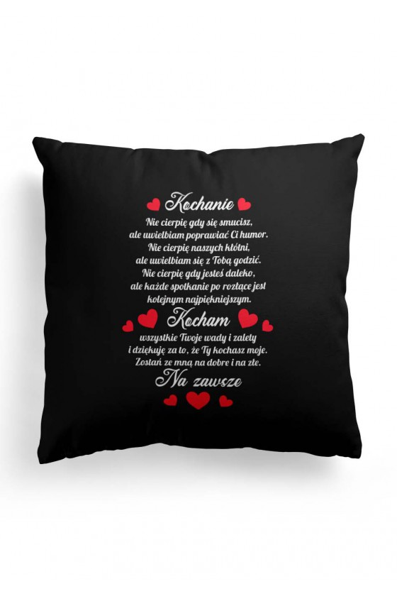 Poduszka Premium dla Ukochanej osoby z pięknym wyznaniem