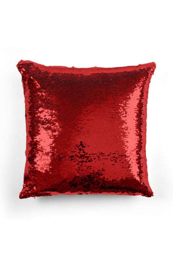 Poduszka cekinowa z najpiękniejszym wyznaniem miłości
