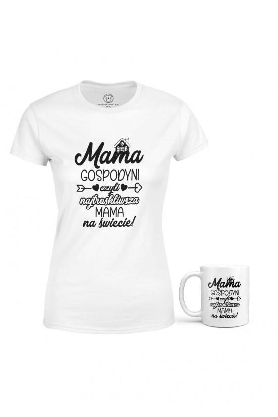 Zestaw Zawodowej Mamy - Koszulka + Kubek - Gospodyni