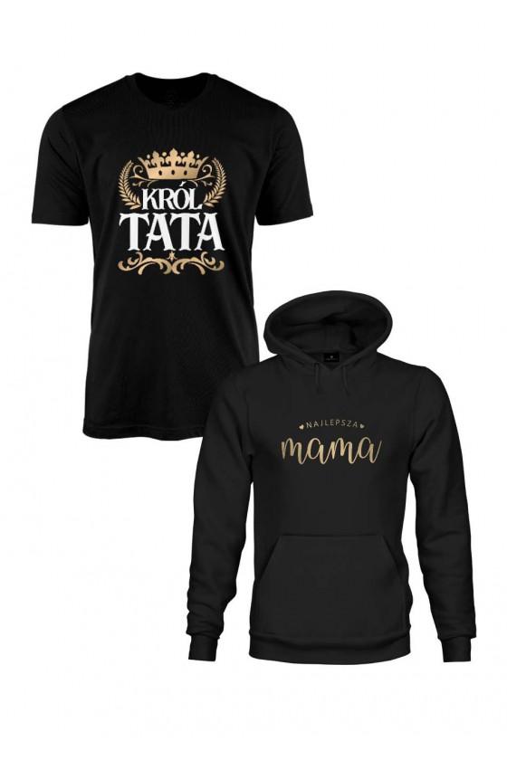 Zestaw Prezentowy Dla Mamy I Taty Bluza I Koszulka