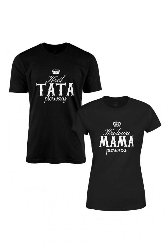 Zestaw Na Prezent Dla Rodziców - Król Tata I Królowa Mama Pierwsi