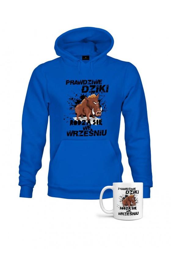 Bluza + Kubek - Prawdziwe Dziki Rodzą Się We Wrześniu