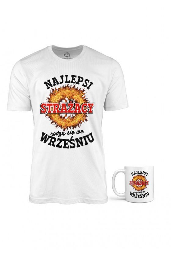 Koszulka + Kubek - Najlepsi Strażacy Rodzą Się W Wrześniu
