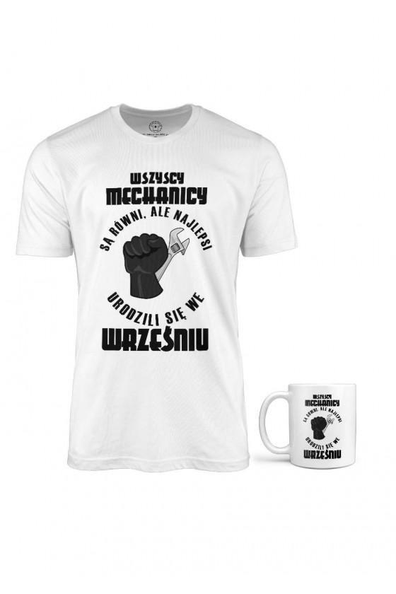 Koszulka + Kubek - Najlepsi Mechanicy Rodzą Się We Wrześniu