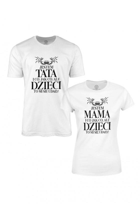 Koszulka Dla Taty + Koszulka Dla Mamy - Udane Dzieci