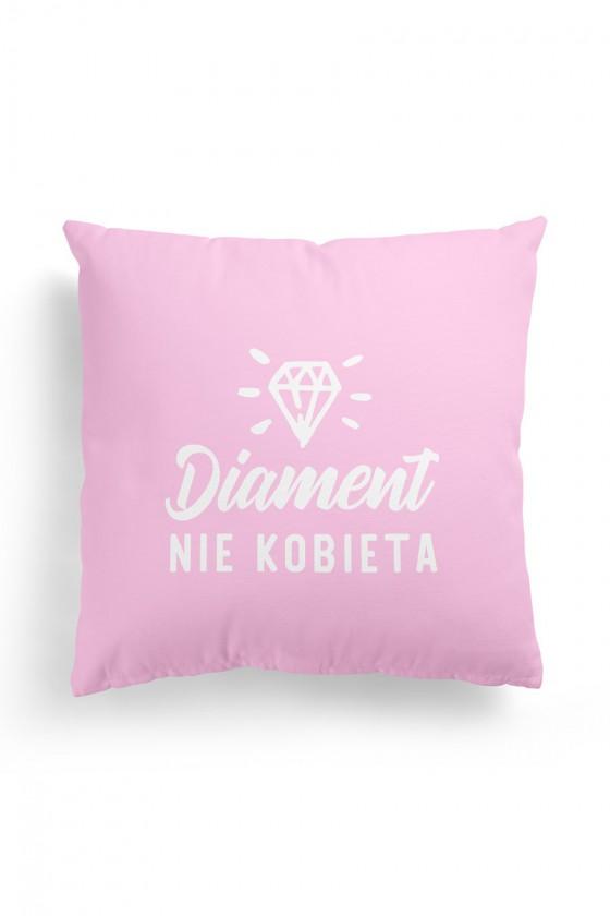 Poduszka Premium Diament nie Kobieta Różowa