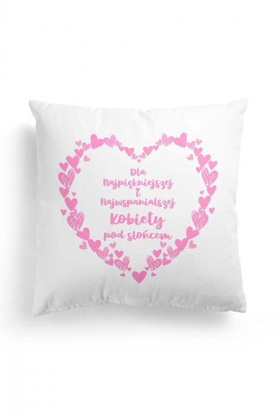 Poduszka Premium Dla Najpiękniejszej Kobiety