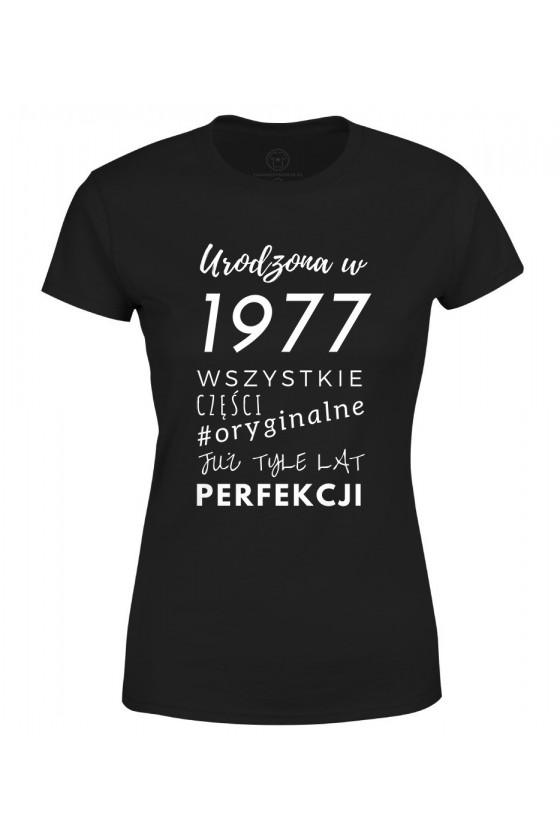 Koszulka damska Urodzona w 1977 2