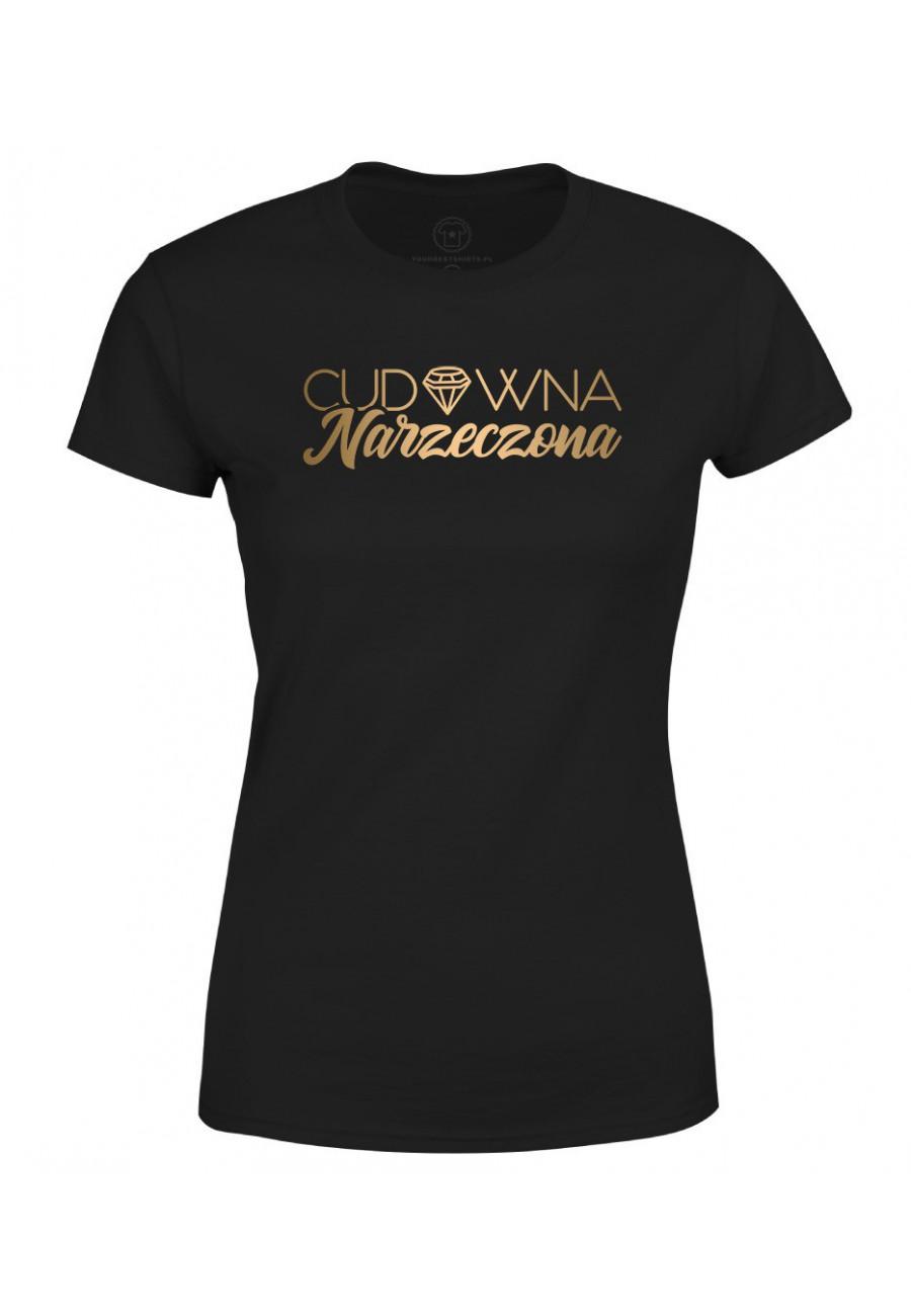 Koszulka damska Z napisem Cudowna Narzeczona