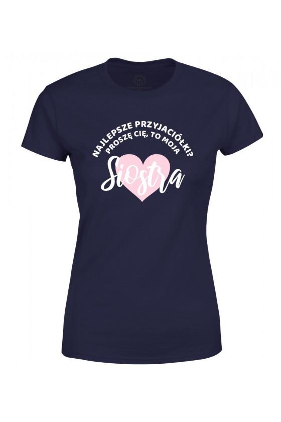 Koszulka damska Z napisem Najlepsze przyjaciółki