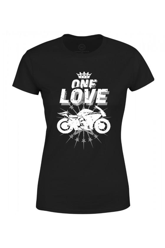 Koszulka damska One Love Motocykle