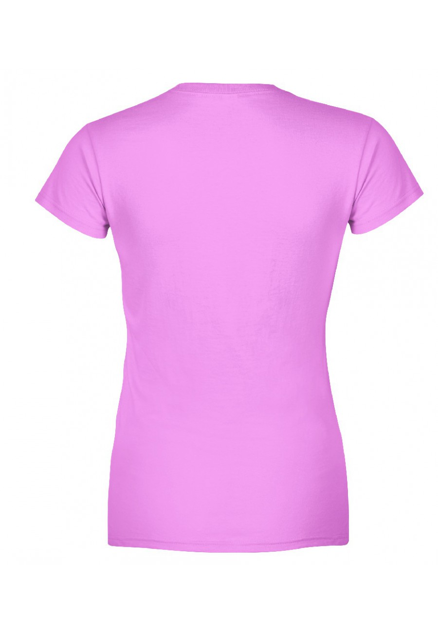 Koszulka damska Z nadrukiem ładna, wolna, stabilna pychicznie