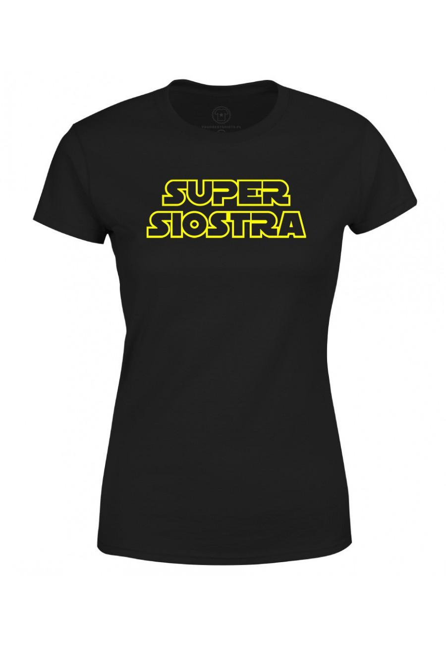 Koszulka damska Super Siostra