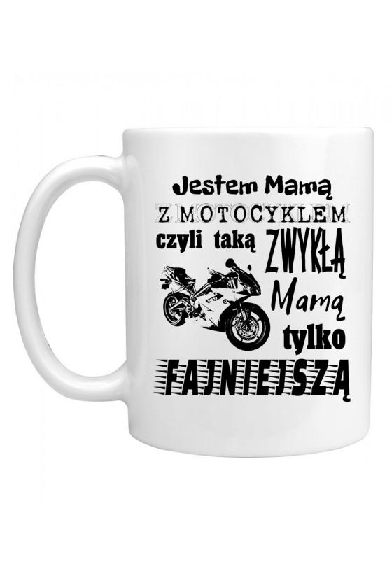Kubek Jestem Mamą z Motocyklem