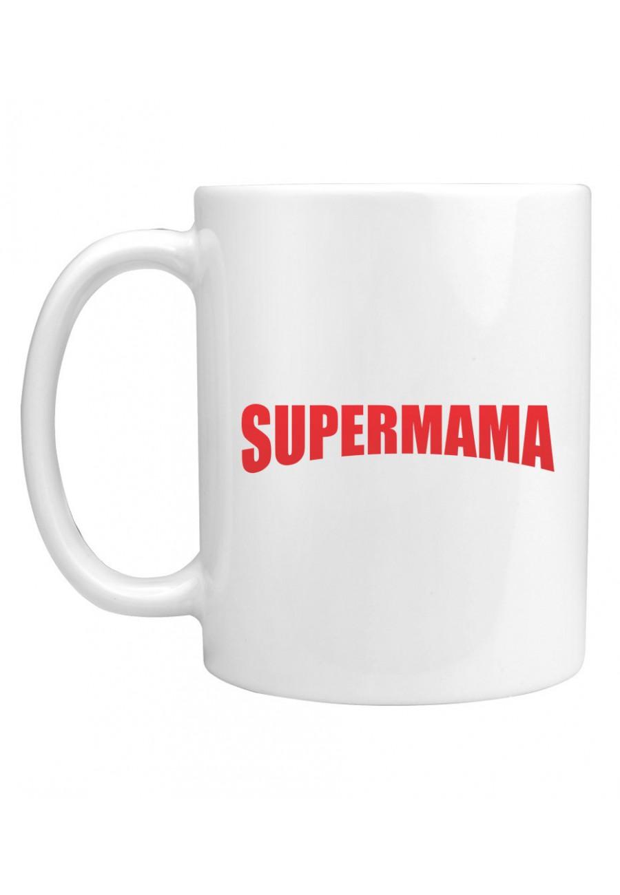 Kubek Z napisem SuperMama