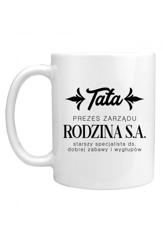 Kubek TATA - PREZES ZARZĄDU RODZINA S.A.