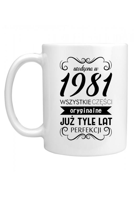 Kubek Urodzona w 1981