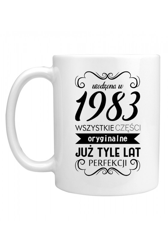 Kubek Urodzona w 1983