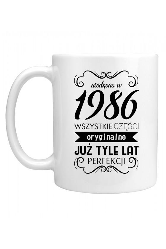 Kubek Urodzona w 1986