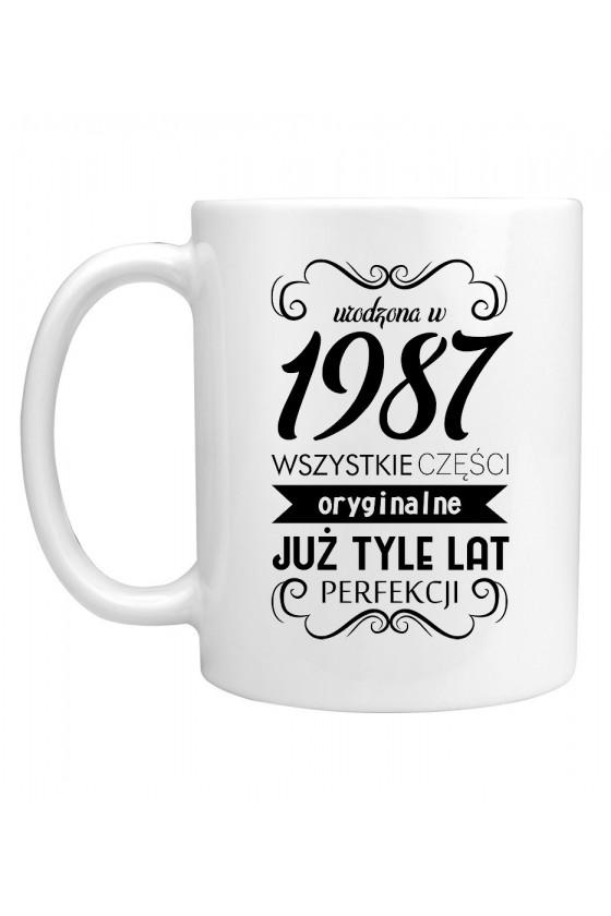 Kubek Urodzona w 1987