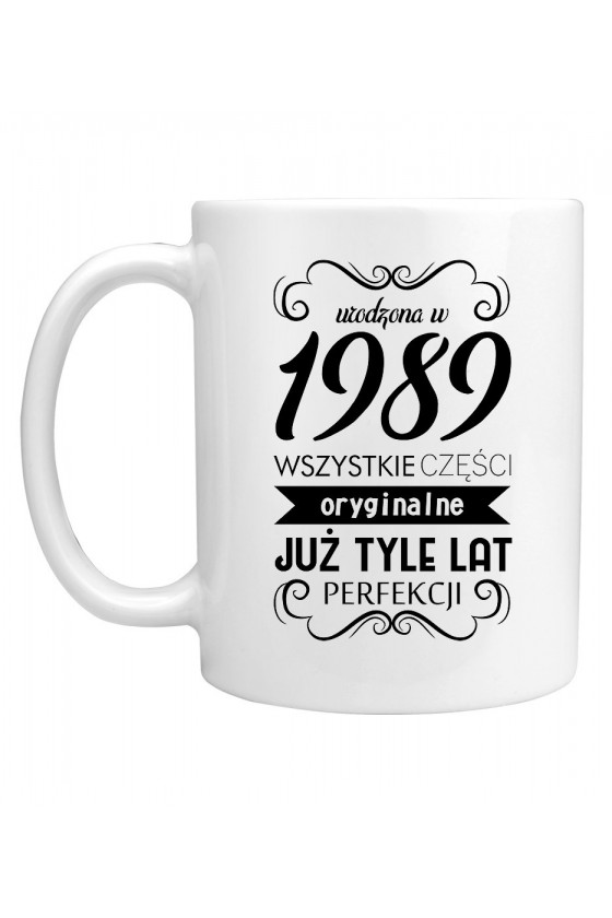 Kubek Urodzona w 1989