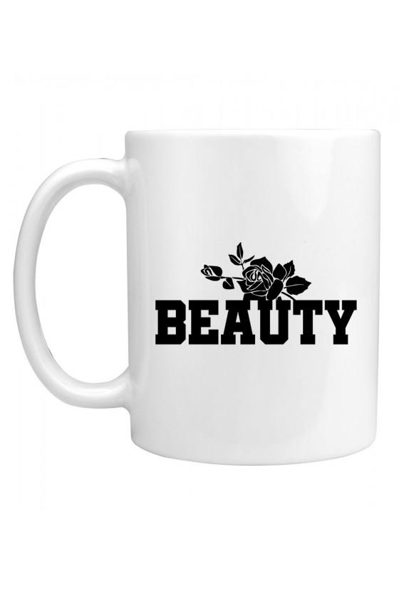 Kubek Dla Par z napisem Beauty