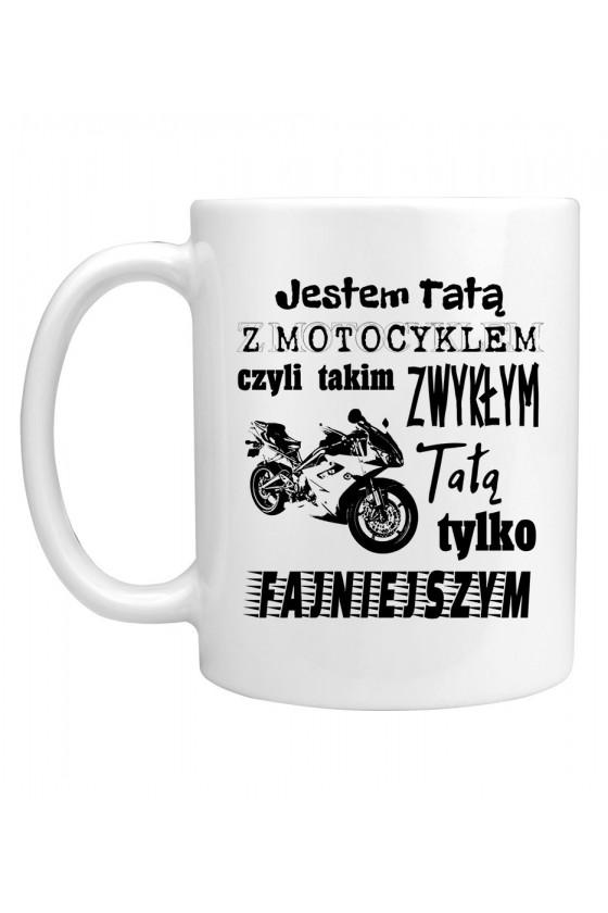 Kubek Jestem Tatą z Motocyklem 3