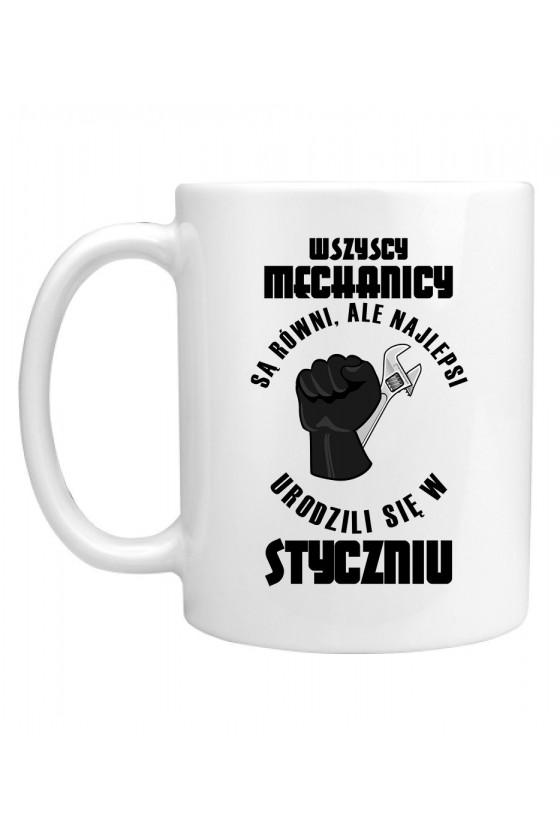 Kubek Najlepsi Mechanicy urodzili się w Styczniu