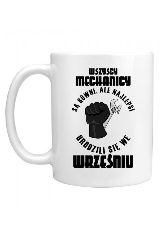 Kubek Najlepsi Mechanicy urodzili się we Wrześniu