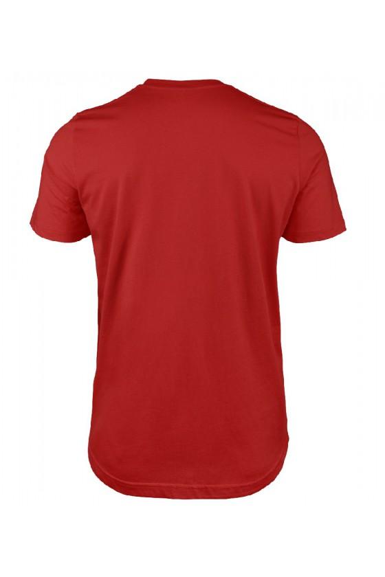 Koszulka męska Z napisem Wszystko czego chcę na święta, to święty spokój