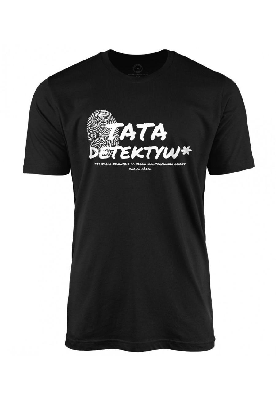 Koszulka męska Tata Detektyw