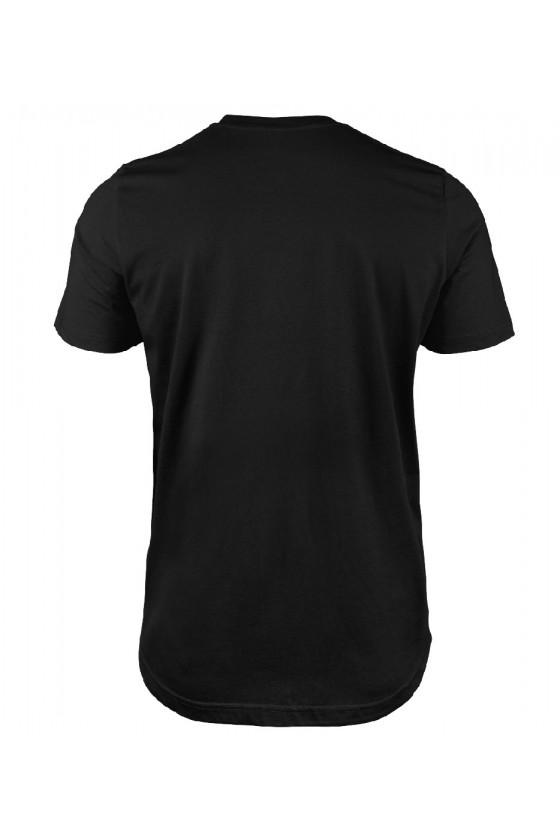 Koszulka męska Dla Taty Jestem Tatą z Super Klatą