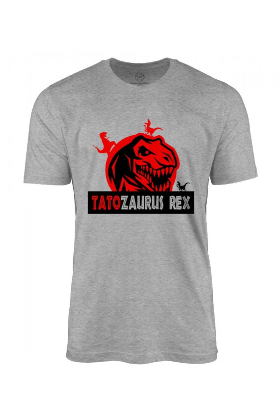 Koszulka męska Koszulka Tatozaurus Rex - dla Taty