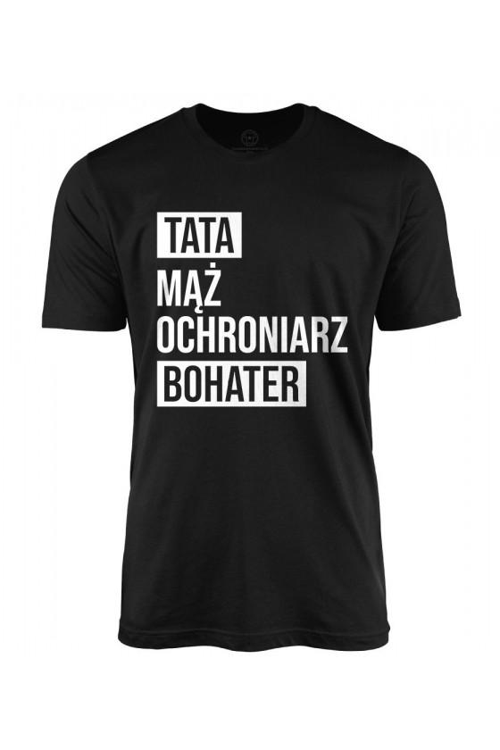 Koszulka męska Tata Bohater