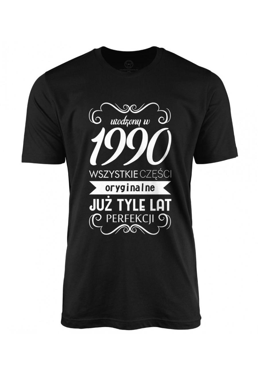 Koszulka męska Urodzony w 1990