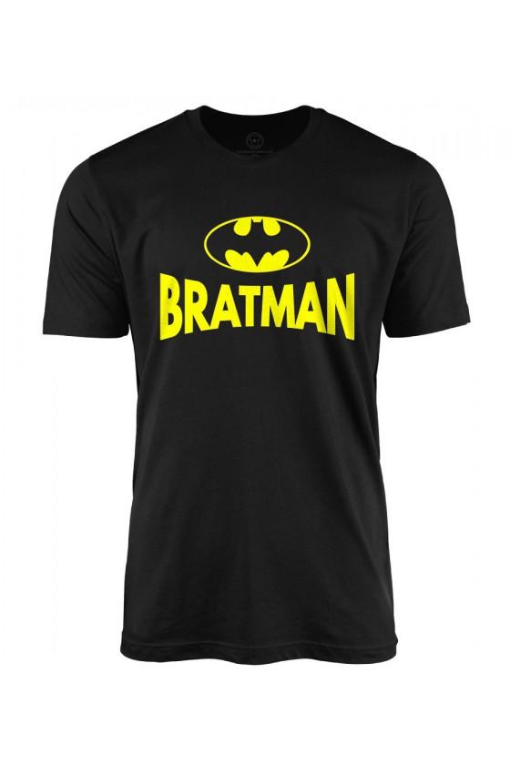 Koszulka męska Z napisem Bratman