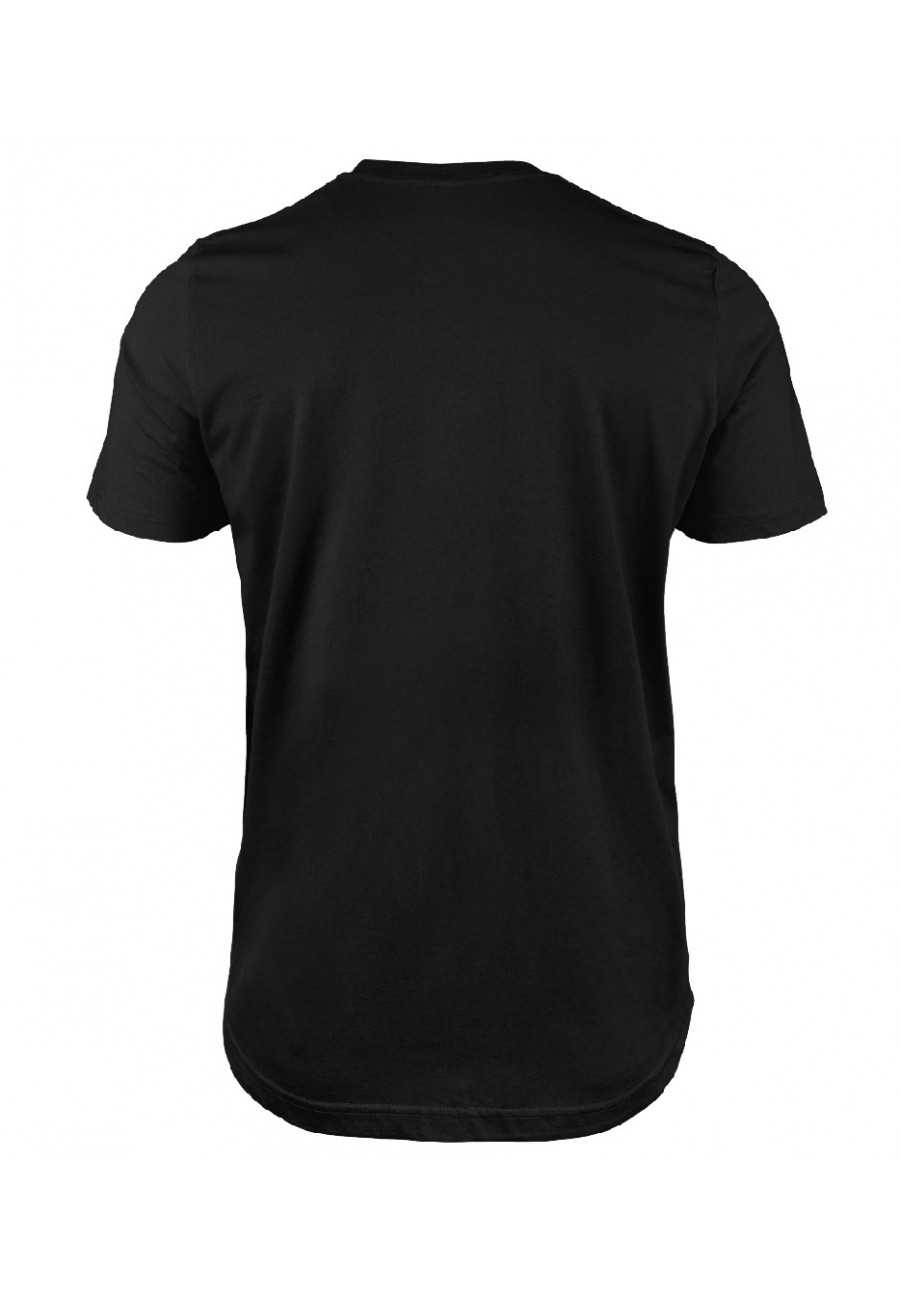 Koszulka męska Z napisem Nie liczy się cel, liczy się podróż