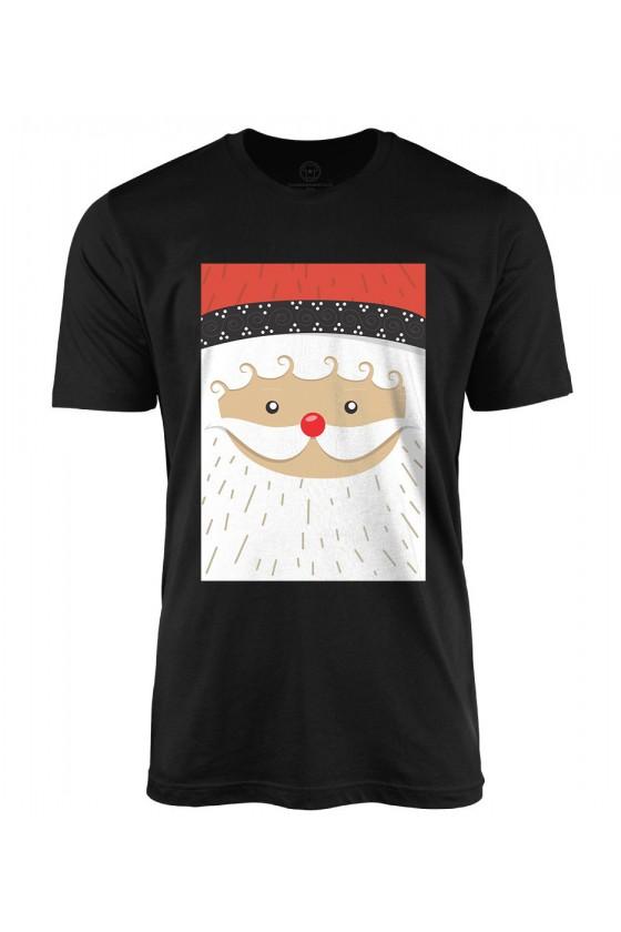 Koszulka męska Z nadrukiem mikołaja