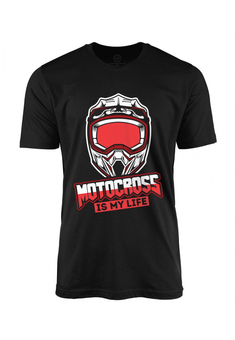 Koszulka męska Motocross is my life