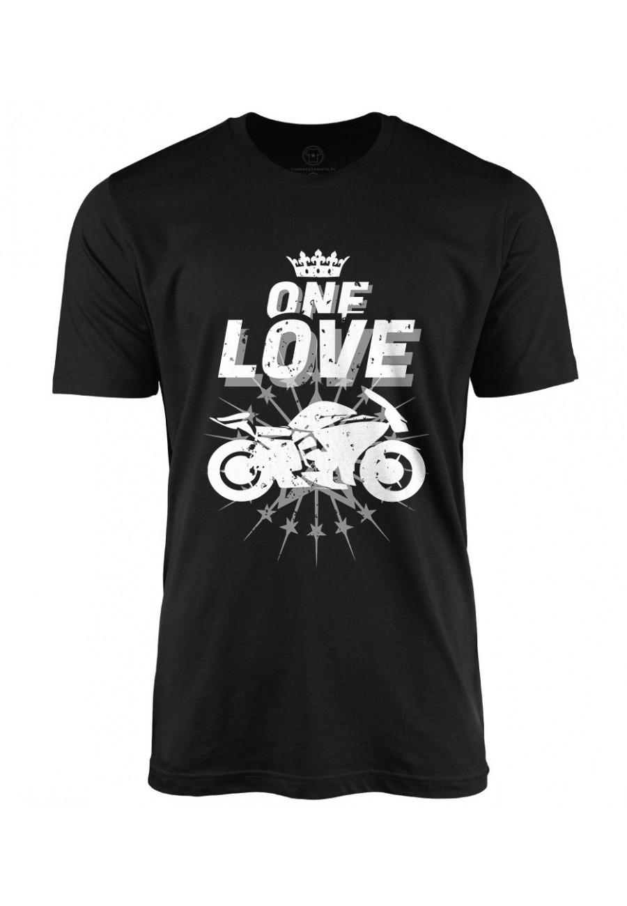 Koszulka męska One Love Motocykle