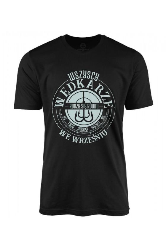 Koszulka męska Najlepsi Wędkarze rodzą się we wrześniu 3