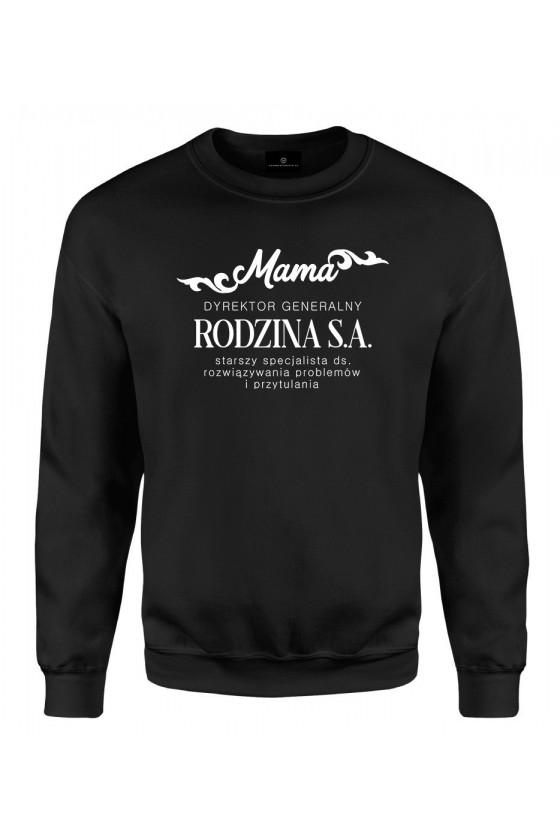 Bluza klasyczna Mama Dyrektor Generalny Rodzina S.A.
