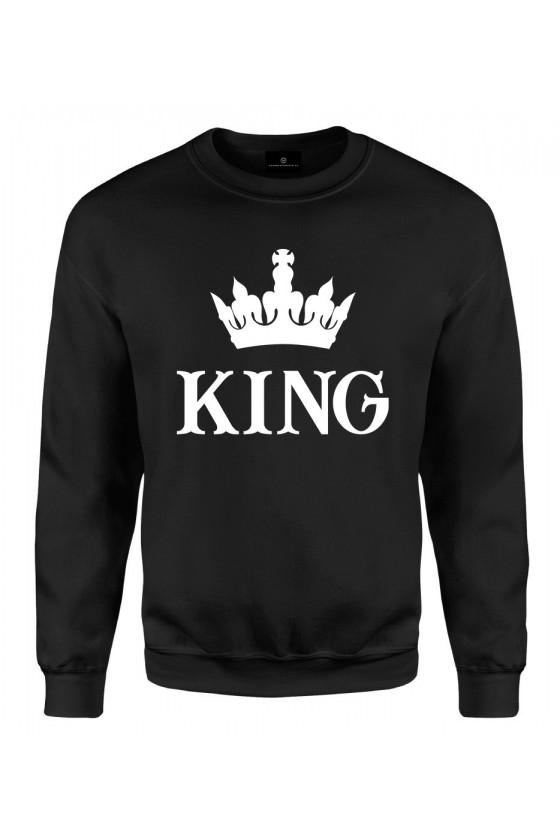 Bluza klasyczna Dla Par - koszulka z napisem King 2